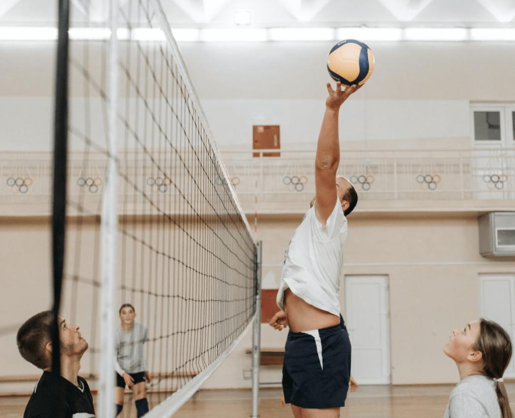 doble golpe en voleibol